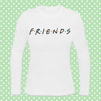 """I/'ll be there for you/"""" Friends inspired T-shirt donna con stampa /""""Central Perk"""