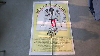 The Little Dragons original US one sheet poster