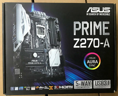 ASUS PRIME Z270-A Mainboard Motherboard + CPU Intel Core i3 7100T 2x 3.40 GHz