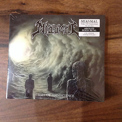 MIASMAL Tides of Omniscience Digipak including woven Patch sealed