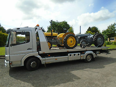 Mercedes-Benz Atego SLIDE AND TILT RECOVERY TRUCK 7.5 TON recovery services