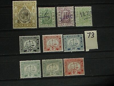 early Hong Kong stamps mint & used