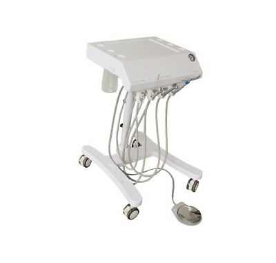 fast ship mobile Dental Delivery Cart turbine Unit w self water supply  syringe