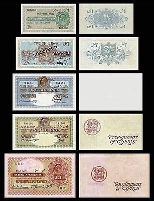 CYPRUS COPY LOT A  (1917 - 1936 George V) - Reproductions