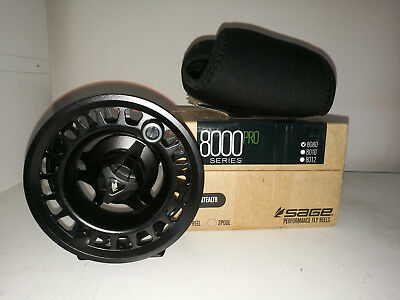 Sage 8080 Pro Series Fly Reels Size 7/8 Color Stealth New