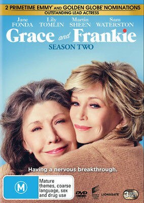 Grace And Frankie Season / Series 2 DVD R4 New!
