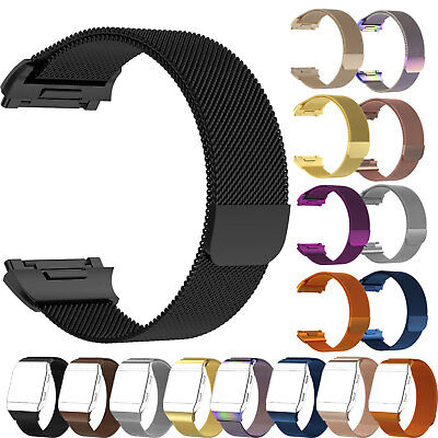 Stainless Steel Band Wrist Strap Magnetic Milanese Loop For Fitbit Ionic Watch