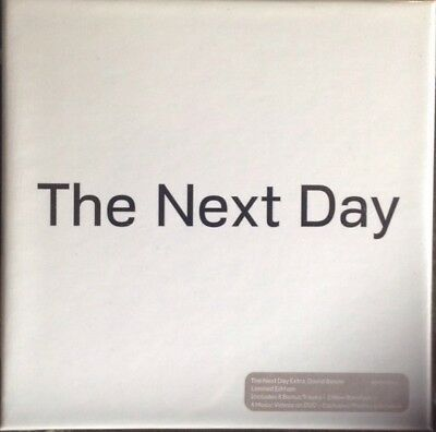 david bowie the next day extra cd box set