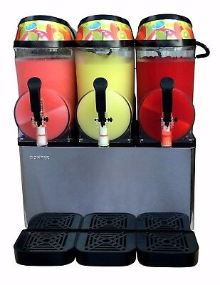 Donper XC336 - New Triple Bowl Margarita Slush Frozen Drink Machine