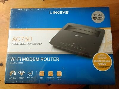 Linksys AC750 WiFi Modem Router - Brand New in Cellophane