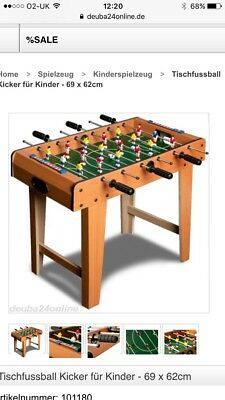 Table Football Game Brand New Boxed