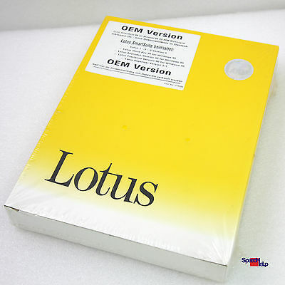LOTUS SMARTSUITE 96 FOR WINDOWS 95 1-2-3 WORD Pro 96 APPROACH FREELANCE ORGANIZE
