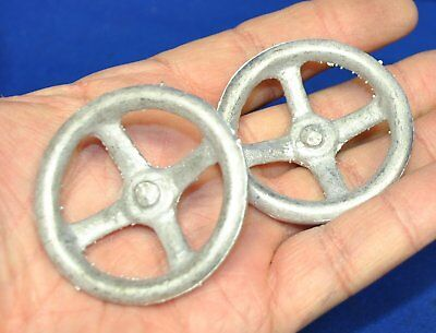 Model Tether gas powered Race car steering wheel castings, Spindizzy