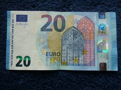 €20 euros. Left-Over Holiday Money