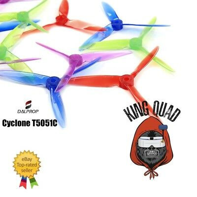 Dal Cyclone T5051C Triblade Propellers  8 Props  (4CW 4CCW)