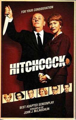 Hitchcock Best Adapted Screenplay For Your Consideration FYC 2012 Book