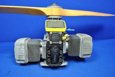 Massive Tartan Twin  large model Aircraft 44cc engine made by Dellorto Italy