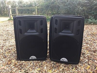 W Audio DSR-15a  Active Speakers