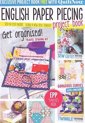QUILT NOW Magazine, Issue 13, Patchwork Sewing English Paper Piecing Gift Book
