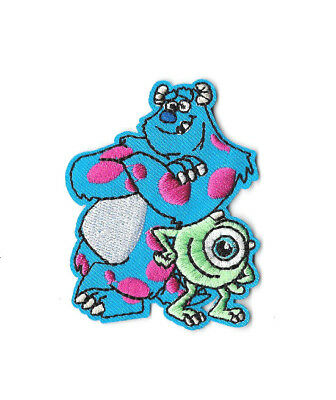 MONSTERS INC IRON ON / SEW ON PATCH Embroidered Badge Cartoon Movie TV PT255