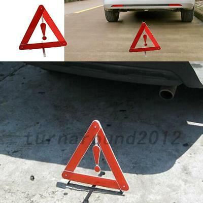 Portable Car Triangle Warning Parking Sign Reflective Foldable Road Emergency