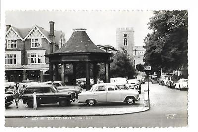 Enfield. The Old Market. R/P. Cars.