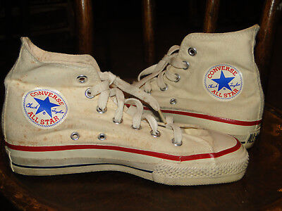 VINTAGE Converse Chuck Taylor  High Top  MADE IN USA 80s DEADSTOCK Sz 4 MENS