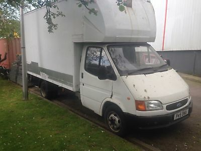 Ford Transit LUTON WITH TAILIFT 1997 for spares or repair
