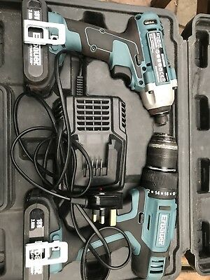 erbauer 18v Cordless And Impact Driver Kit
