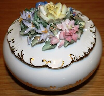 Royal Crown Derby - The Chatsworth Floral Box