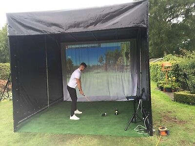 Outdoor Golf Enclosure - Teaching bay For Golf Clubs