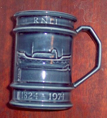 OFFICIAL  RNLI LIFEBOAT   150th ANIVERSARY MUG  1824-1974  Fine Holkham Pottery