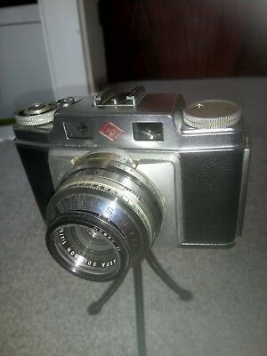 AGFA Super Silette Solagon Camera with Leather Case and Instructions