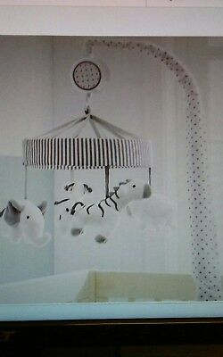Crib Mobile Two by Two - Cloud Island™ - Gray