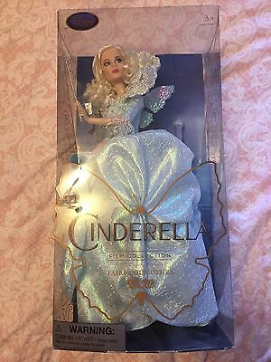 Disney Store Live Action Cinderella Fairy Godmother Doll Brand New In Box