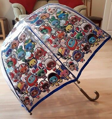 Paperchase - Kids Push Up Umbrella - Fun Pattern - Great Condition