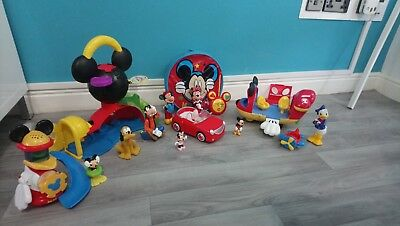 Disney Mickey Mouse Clubhouse Toy Bundle