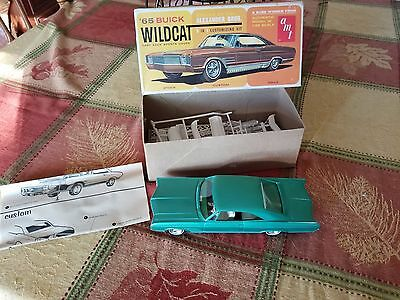 Vintage model car . 65 Buick Wildcat fast back sports coupe