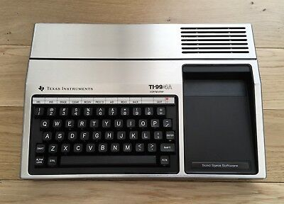 Texas Instruments ti99/4a Computer in Good Cosmetic Condition. No PSU