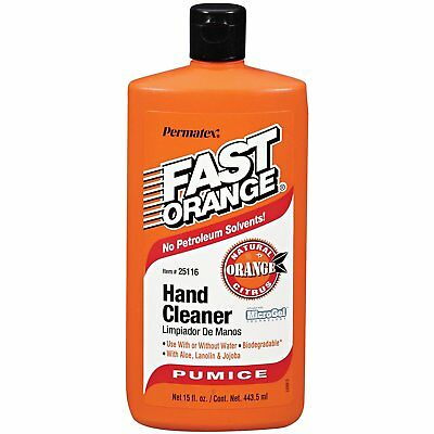 Permatex 25113 Fast Orange Pumice Lotion Hand Cleaner 443.5ml