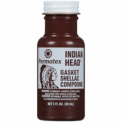 Permatex 20539 Indian Head Gasket Shellac Compound hose hard paper 57g