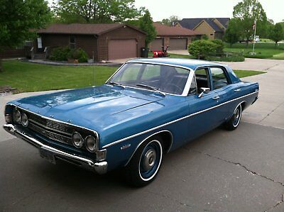 1968 Ford Torino Fairlane 500 1968 Ford Fairlane 500   not Torino or Ranchero not 1969