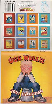 Oor Wullie   2001 Calendar   From The Archives