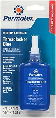 Permatex 24240 Medium Strength Threadlocker Thread Lock Blue 36ml