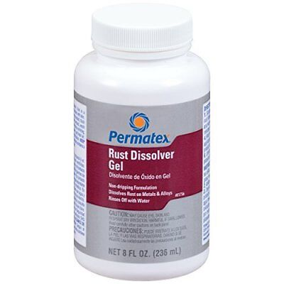 Permatex 81756 Rust Dissolver Gel Brush Rust remover 236ml