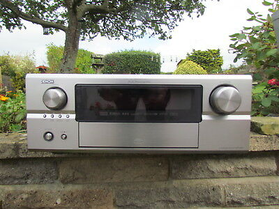 Denon AVR-3805 7.1 Channel 160 Watt Receiver +MANUALS + REMOTE + MIC * MINT*