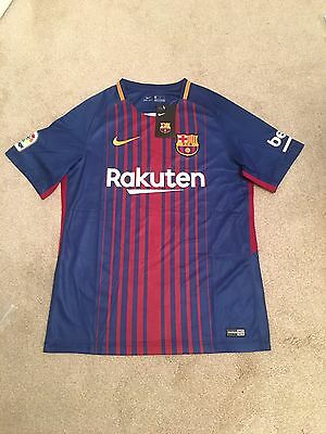 Barcelona Home Shirt 2017/2018 Medium