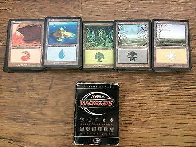 Magic Cards The Gathering and Sydney 2002 Worlds