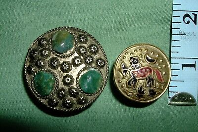 Vintage snuff tin and small pill box