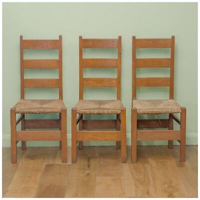 Heal and Co. Arts and Crafts Oak Letchworth Chair c. 1905